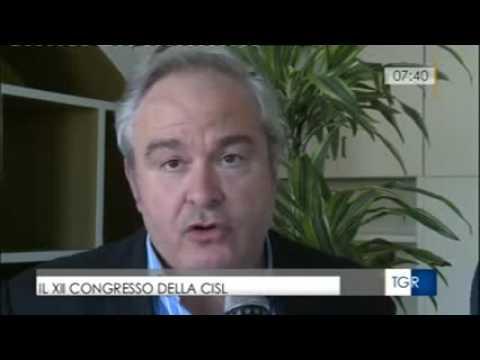 Intervista TGR Rai al segretario Alessio Ferraris su XII congresso Cisl