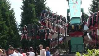 preview picture of video 'Samurai - Thorpe Park - TPR UK Trip 2010'