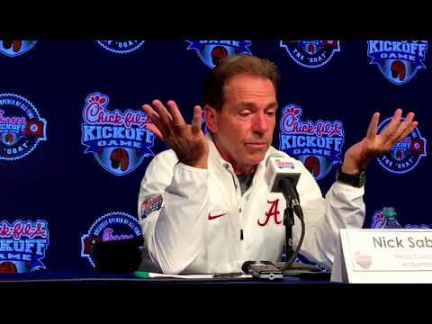 Nick Saban's press conference after 24-7 win over Florida State