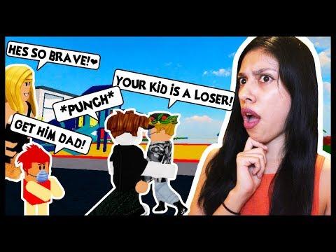 Adopt And Raise A Cute Kid Roblox Being Bullied By A - roblox zailetsplay videos