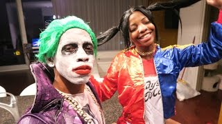 Download Youtube: THE JOKER AND HARLEY QUINN FOR HALLOWEEN!!