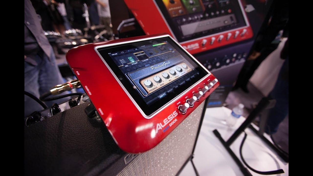 Alesis DMDock and AMPDock hands-on thumbnail