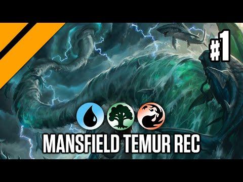 Manfield's Temur Reclamation - Bo3 Standard P1 | Ikoria | MTG Arena