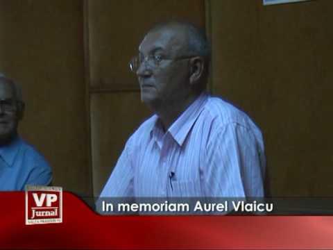 In memoriam Aurel Vlaicu