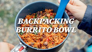 REI Camp Recipes: Backpacking Burrito Bowl