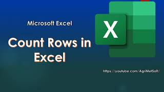 Count Rows in Excel