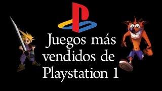 TOP 10 Juegos más vendidos de Playstation 1