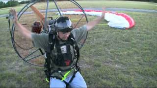 How to fly a Powered Paraglider part 2 of 3