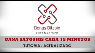 Bonus Bitcoin: faucet bitcoin | Pagando | Tutorial actualizado|