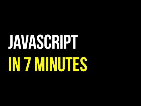 JavaScript in 7 minutes | Create Interactive Websites | Code in 5