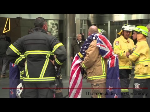From all of us here in New Zealand, we commemorate the civilians and firefighters who tragically lost their lives 17 years ago. Kia Kaha America.
