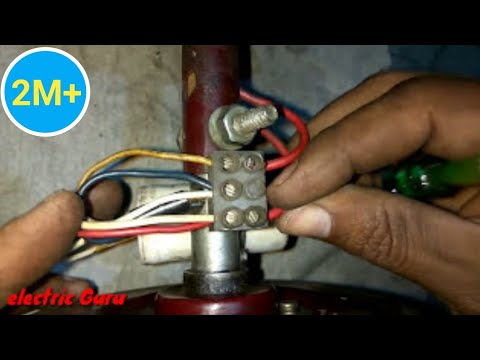 Ceiling Fan installation   Primary and Secondary Winding ke connection kaise kare   Electric Guru