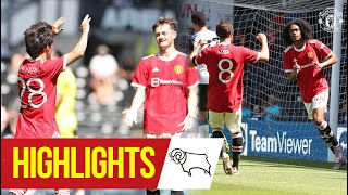 Chong & Pellistri give Reds victory at Derby | Highlights | Derby County 1-2 Manchester United