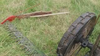 Конная косилка под трактор.