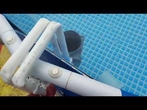 Скимер для бассейна своими руками
