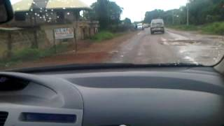 preview picture of video 'NIGERIA,_DRIVING_FROM_OSHOGBO_TO_ILORIN-20120515[1].3GP'