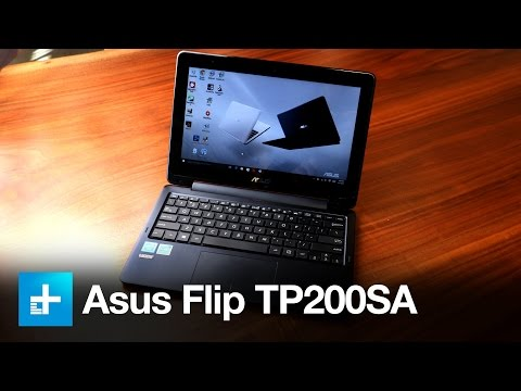 ASUS Flip TP200sa Laptop - Hands On Review