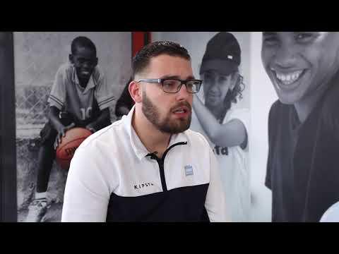 Anthony, basketteur et éducateur