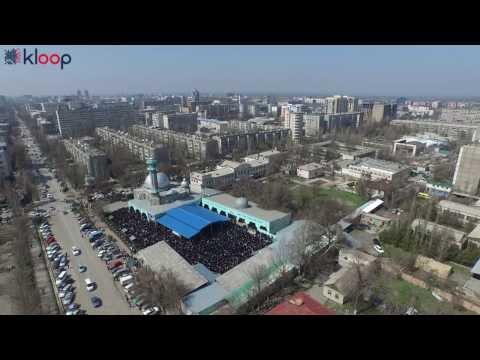 Бишкек: пятничный намаз больше не вызывает пробок