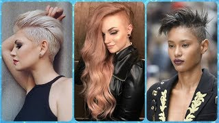 20 New Ideas For Womens 💝 Side Shaved Hairstyles