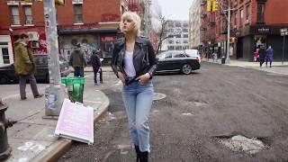 ハンサムカジュアルが魅力! NYで着こなすALLSAINTSのレザージャケット