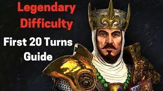 Warhammer II - Legendary First 20 Turns Guide - Bretonnia