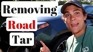 How To Remove Road Tar From Your Car: Rapid Remover