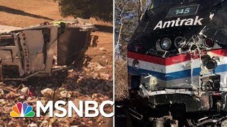 Sen. Flake Describes Moments After GOP Train Collides With Garbage Truck | Velshi & Ruhle | MSNBC thumbnail