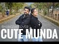Bhangra on Cute Munda | Sharry Mann | Parmish Verma | Couple Bhangra
