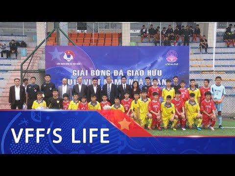 Khai mạc giải bóng đá giao hữu U15 Quốc tế Việt Nam – Nhật Bản 2019