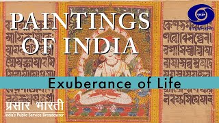 Paintings of India - Exuberance of Life - OF