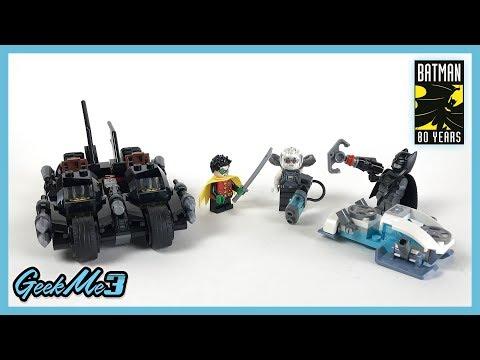 Vidéo LEGO DC Comics Super Heroes 76118 : Mr. Freeze contre le Batcycle