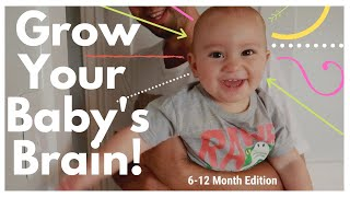 BABY PLAY - HOW TO PLAY WITH 6-12 MONTH OLD BABY - BRAIN DEVELOPMENT ACTIVITIES