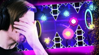 EVERYTHING IS AGAINST ME!!! || Geometry Dash (Part 4)