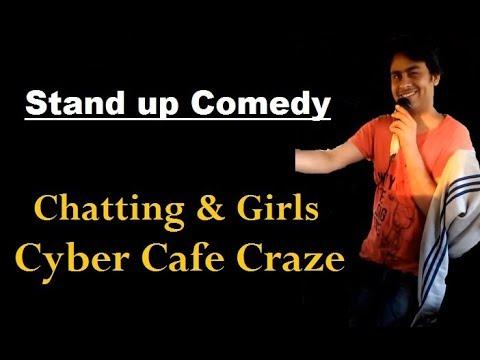 Chatting & Girls, Cyber Cafe Craze | Stand up Comedy by Bhavani Shankar