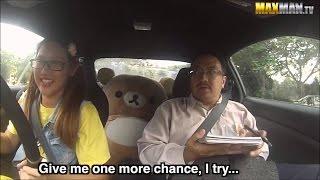Девушка за рулем тренер тролля привлекает миллионы просмотров на YouTube