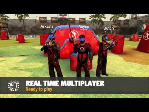 Video of XField Paintball 2 Multiplayer