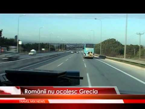 Romanii nu ocolesc Grecia