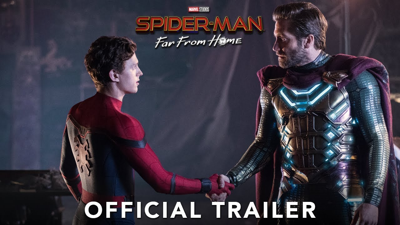 Trailer för Spider-Man: Far from Home