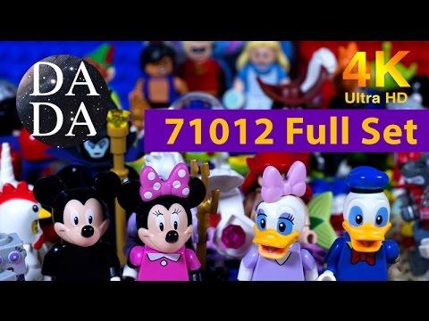 Vidéo LEGO Minifigures 71012 : Série Disney