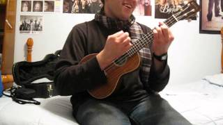 Brandon Heath-It's No Good To Be Alone (ukulele cover)