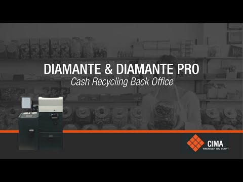 CIMA's Diamante Back Office Recycling Solution