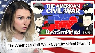 New Zealand Girl Reacts to the AMERICAN C.W. - OVERSIMPLIFIED