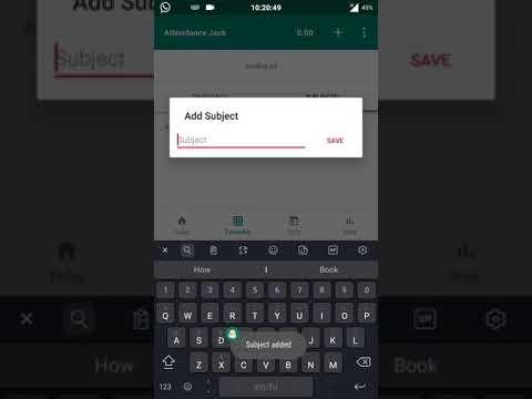 Student Attendance App Version 3 0 - смотреть онлайн на Hah Life