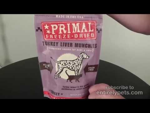 Primal Freeze-Dried Munchies - Turkey Liver (2 oz) Video