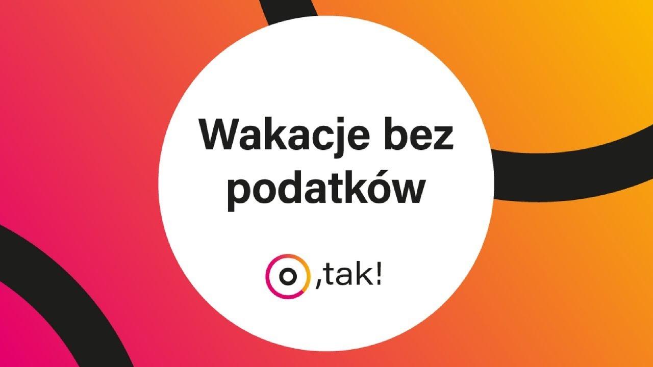 Wakacje bez podatków? Zobacz więcej na: www.taxomatic.pl