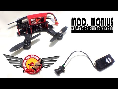 separar-lente-y-cuerpo-en-mobius-action-cam--split-lens-and-body--racing-drone