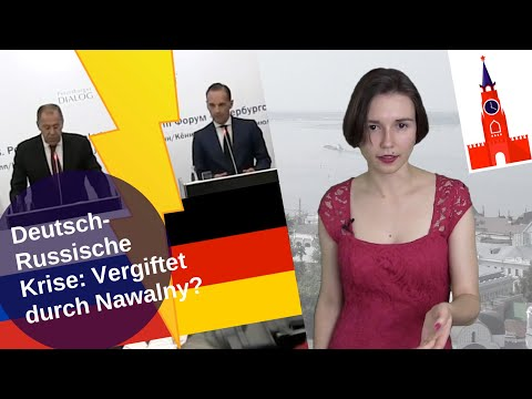 Deutsch-Russische Krise: Vergiftet durch Nawalny? [Video]
