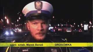 Policjanci z DROGÓWKI: Banaś
