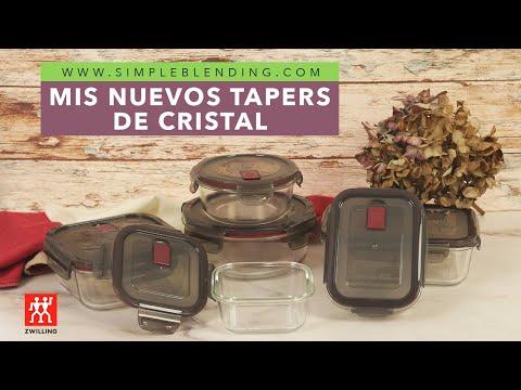 MIS NUEVOS TAPERS DE CRISTAL | Tapers para batchcooking | Tápers de cristal Zwilling Gusto